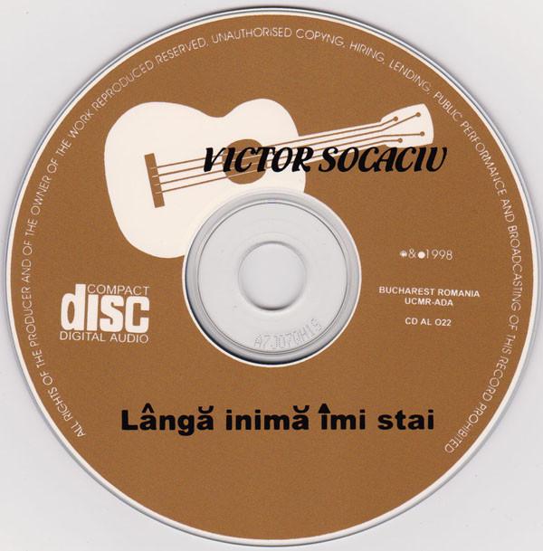 Lângă inimă îmi stai CD